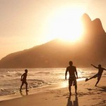 Summer. Sun. Beach. Football. Top attractions in Brazil!